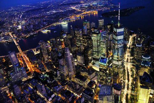 001 - Noční New York USA