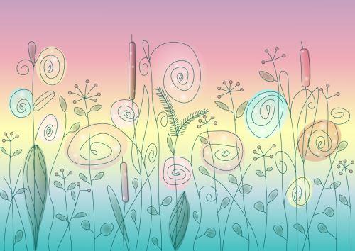 07 - Kytičky kreslené