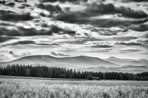 1279-Černá hora, černobíle
