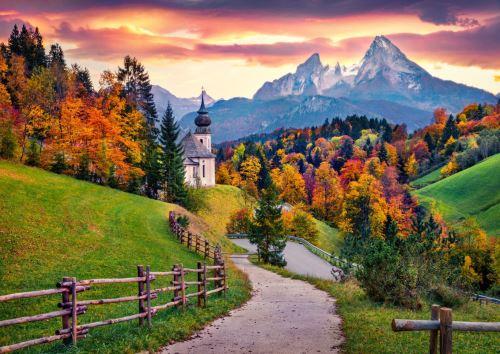 12 - Kostel Maria Gern Berchtesgaden Německo