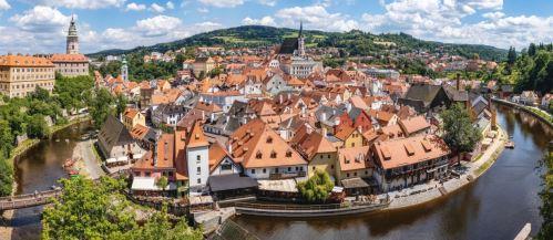 0001 - Český Krumlov panorama (Max.rozměr 120 x 80.)