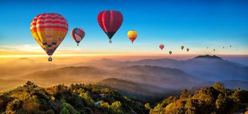 02 - Horkovzdušné balóny Thajsko