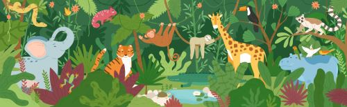 03 - Zvířata v džungli