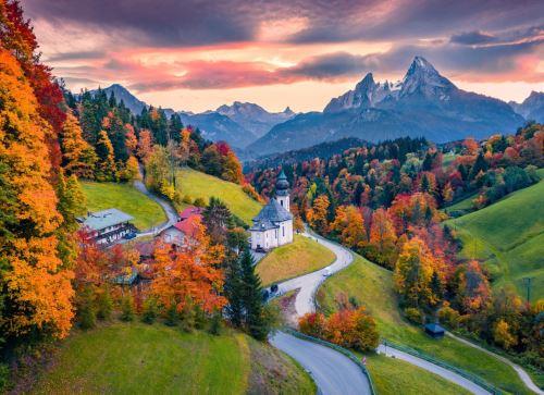08 - Kostel Maria Gern Berchtesgaden Německo