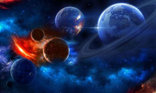 04 - Vesmír s hvězdami a planetami