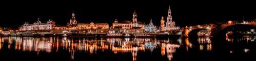 002 - Drážďany panorama Německo